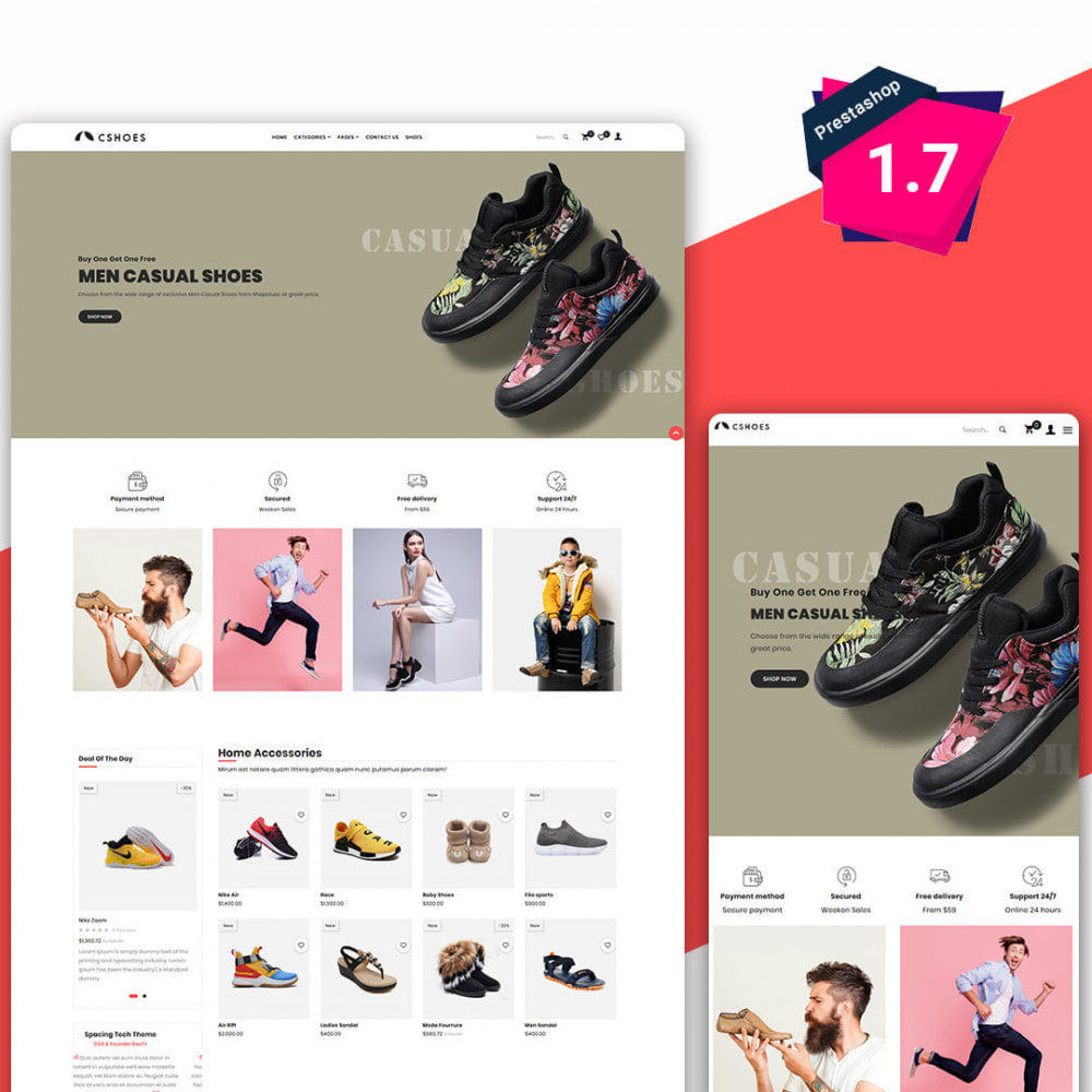 theme - Moda & Obuwie - Cshoes - The Shoes & Fashion Store - 1