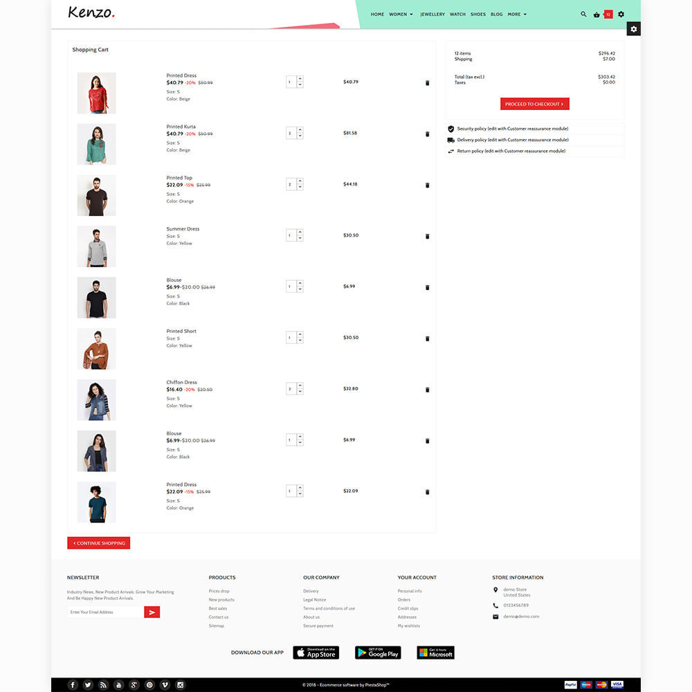 theme - Moda & Calzature - Kenzo - Stylo Fashion Shop - 4