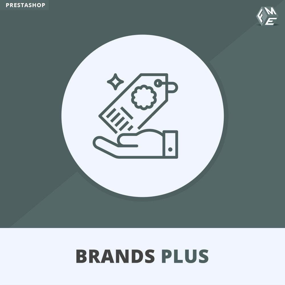 module - Marken & Hersteller - Brands Plus – Marken- & Herstellerkarussell - 1