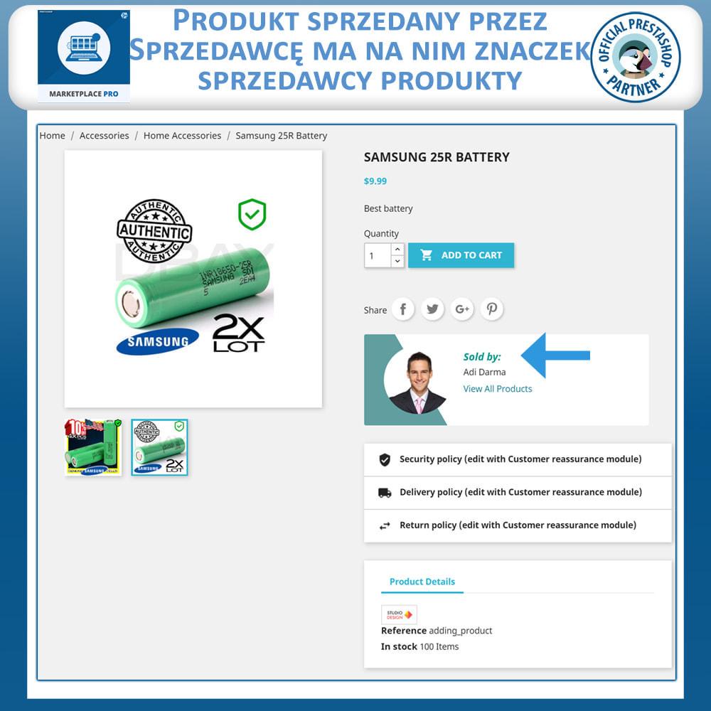 module - Stworzenia platformy handlowej - Marketplace Pro - 2