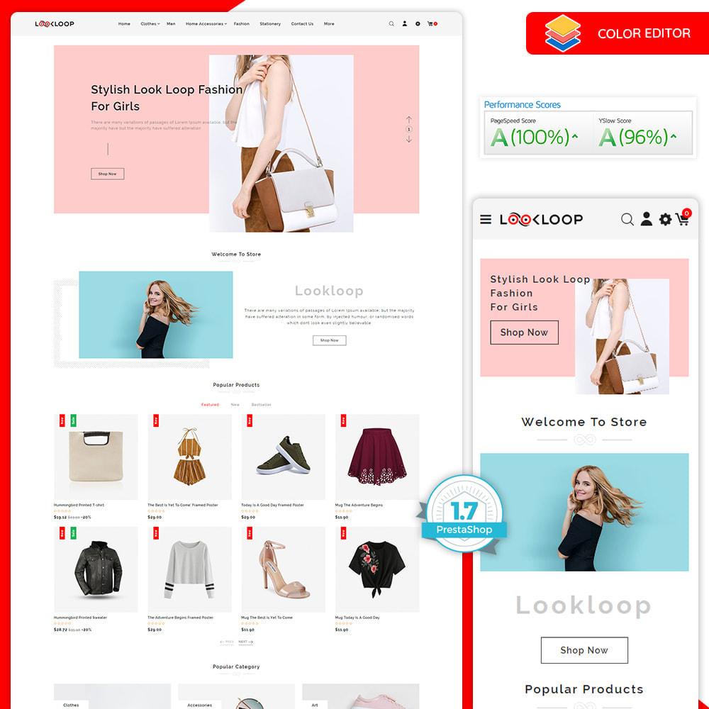 theme - Fashion & Shoes - LookLoop - Fashion & Lifestyle Store For Women & Men - 1