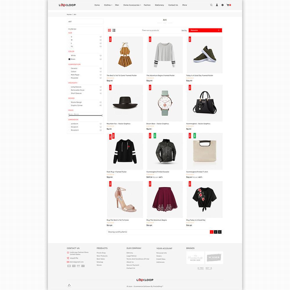 theme - Fashion & Shoes - LookLoop - Fashion & Lifestyle Store For Women & Men - 3