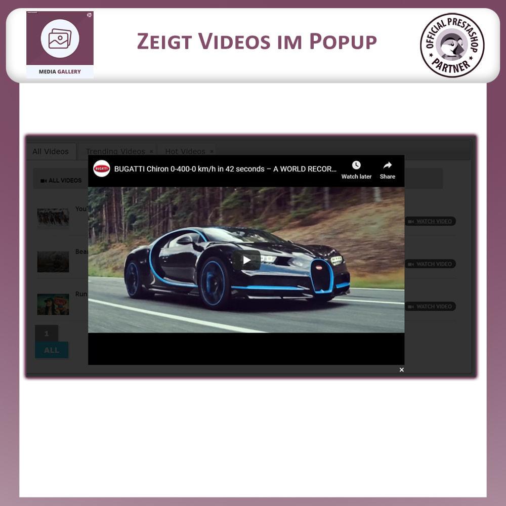 module - Digitale Produkt - Mediengalerie - Videogalerie - 4