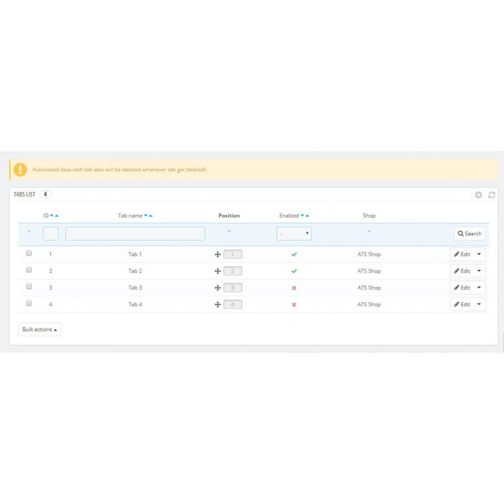 module - Дополнительной информации и вкладок товара - Additional Product Fields And Tabs - 12