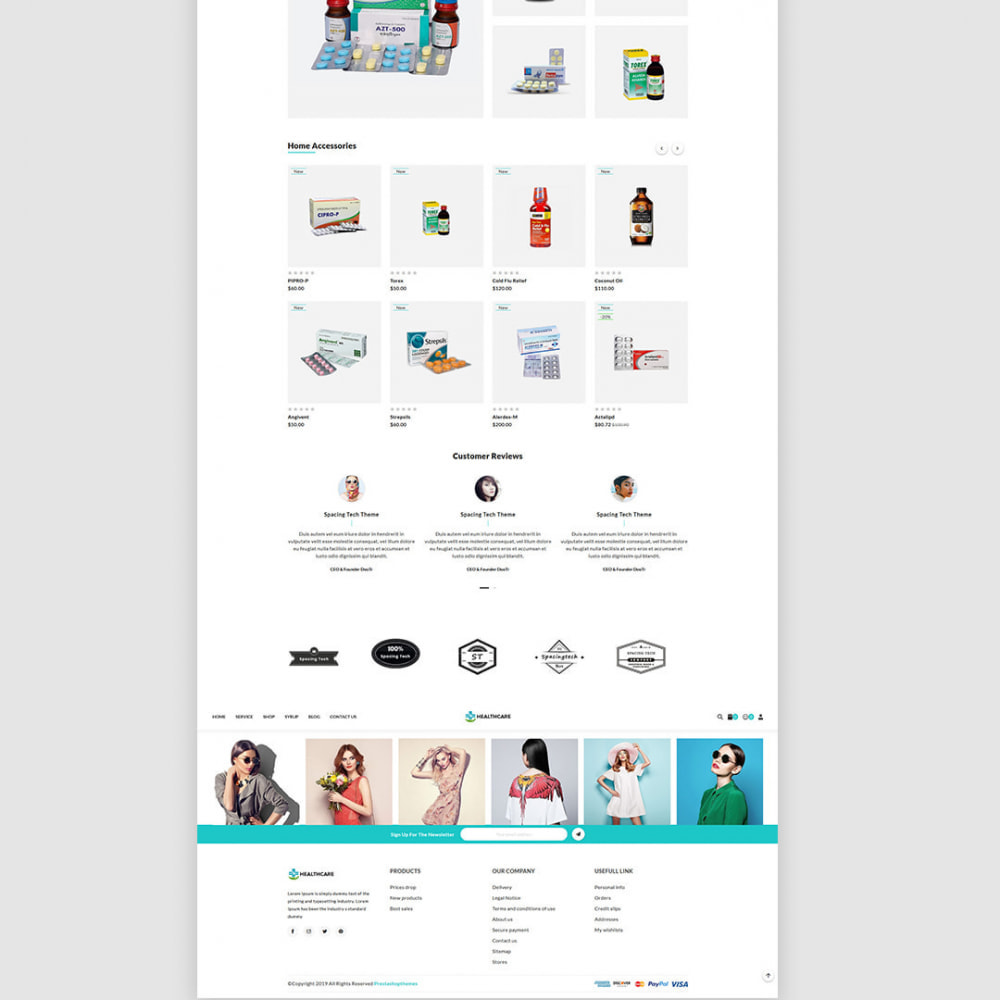 theme - Saúde & Beleza - Healthcare - The Medicine & Health Accessories Store - 4