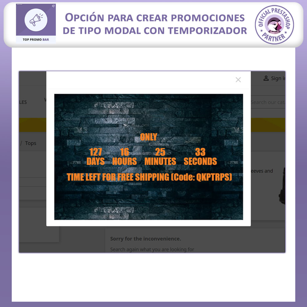 module - Bloques, Pestañas y Banners - Top Banner Advance - 6