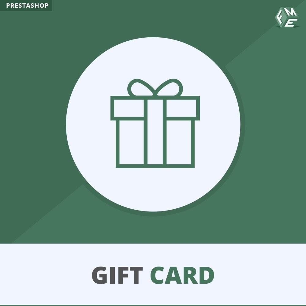 module - Liste de souhaits & Carte cadeau - Carte Cadeau - 1
