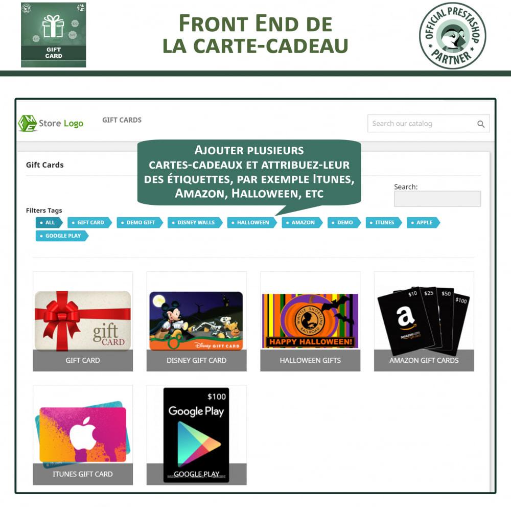module - Liste de souhaits & Carte cadeau - Carte Cadeau - 2