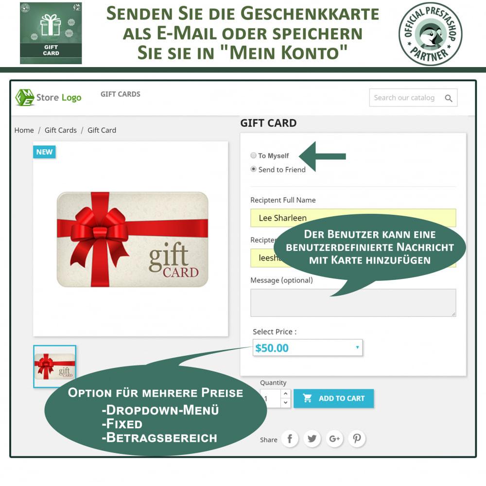 module - Wunschzettel & Geschenkkarte - Geschenk-Karten - 3