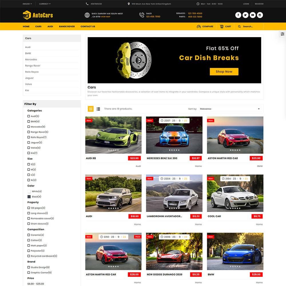 theme - Auto & Moto - AutoCars Autopart Store - 2