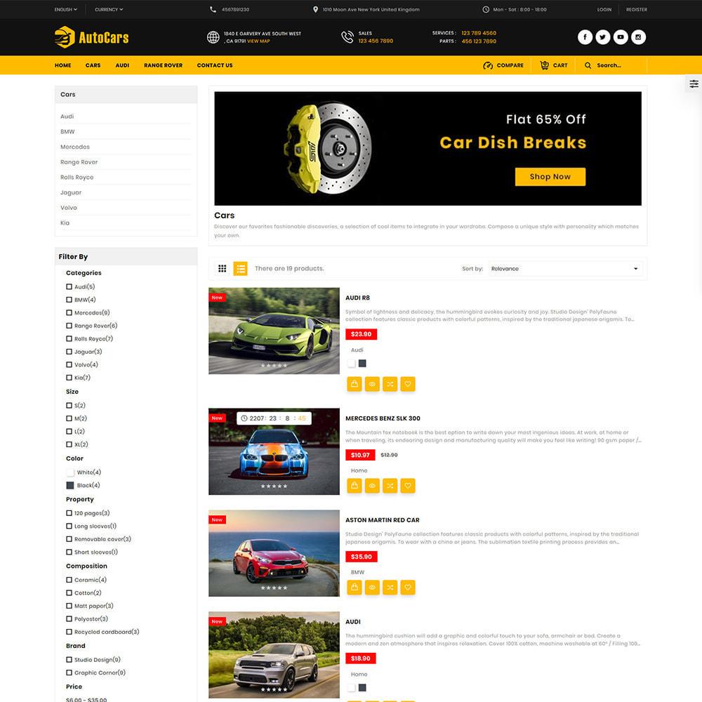 theme - Auto & Moto - AutoCars Autopart Store - 3