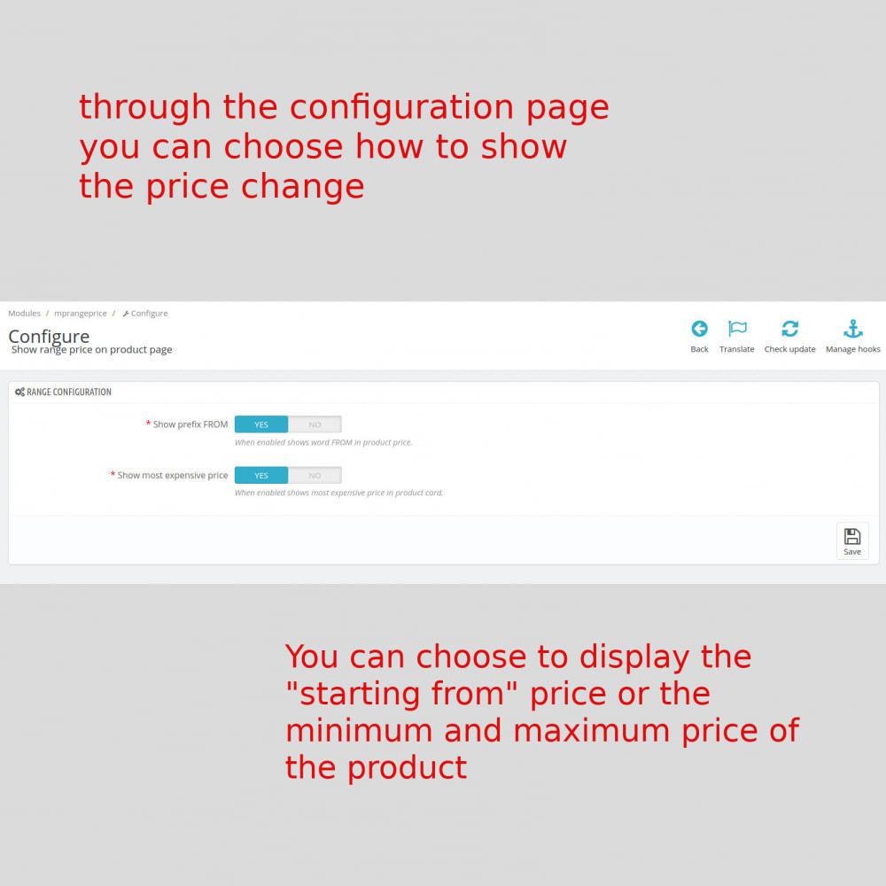 module - Prijsbeheer - MP Show range price - 1