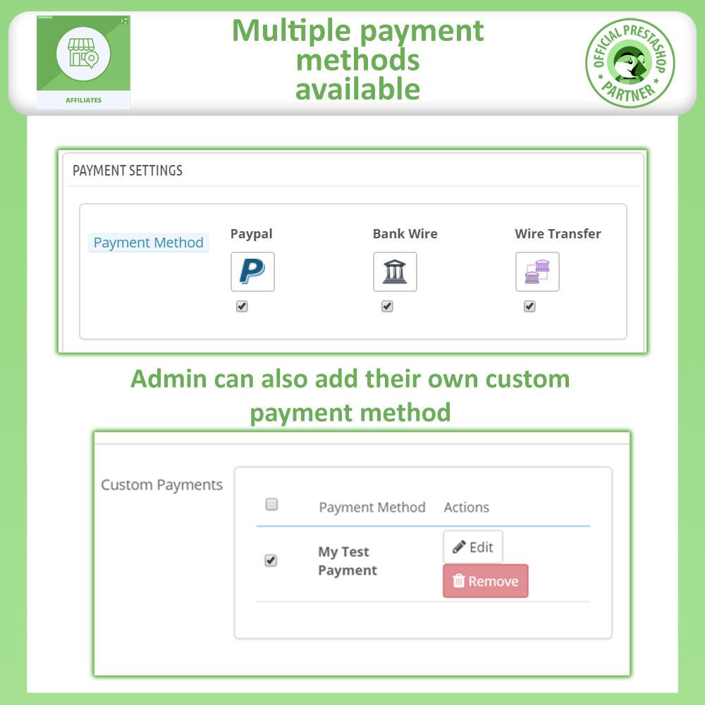 module - SEA SEM pago & Filiação - Affiliates Pro, Affiliate & Referral Program - 16