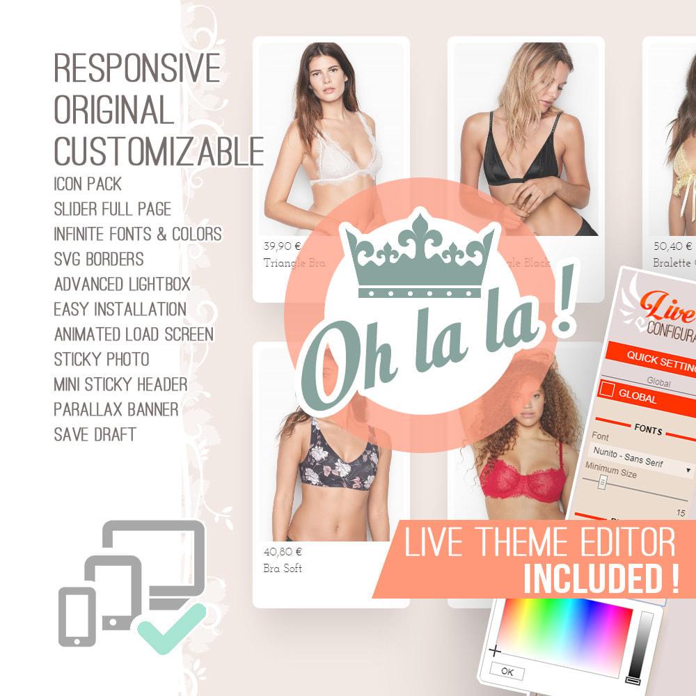 theme - Lingerie & Adulti - Oh la la ! - 1