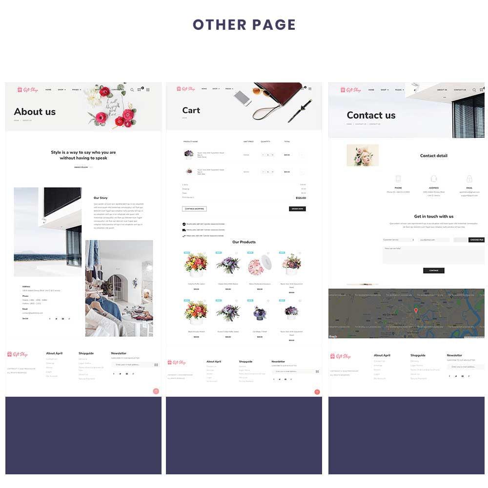 theme - Prezenty, Kwiaty & Uroczystości - Flower Store eCommerce Bootstrap 4 - 4