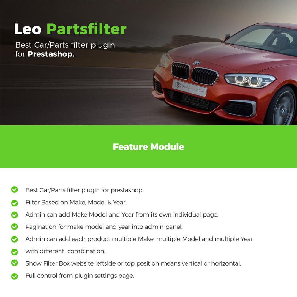 module - Search & Filters - Leo Parts Filter for Car/Parts Filter Plugin - 1