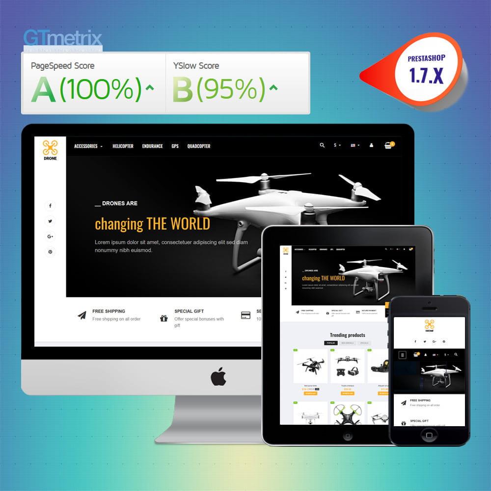 theme - Elektronik & High Tech - VP_Drone - Page Builder - 1