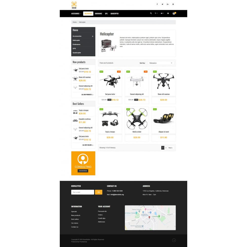 theme - Elektronik & High Tech - VP_Drone - Page Builder - 3