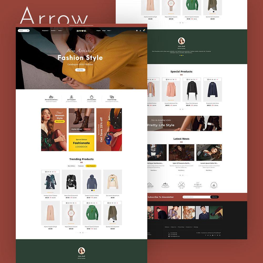 theme - Moda & Calçados - Arrow - Fashion Studio - 2