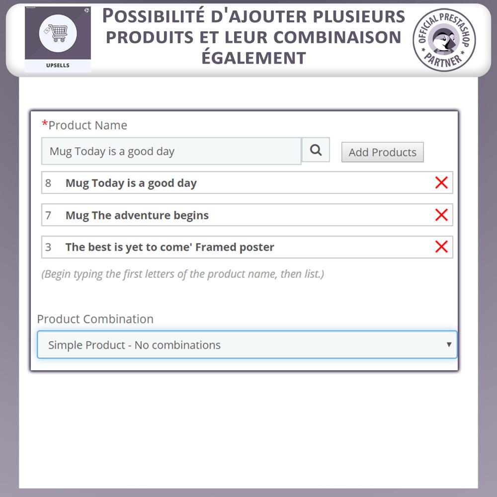 module - Ventes croisées & Packs de produits - Produits Incitatifs - Chariot à Pousser - 5