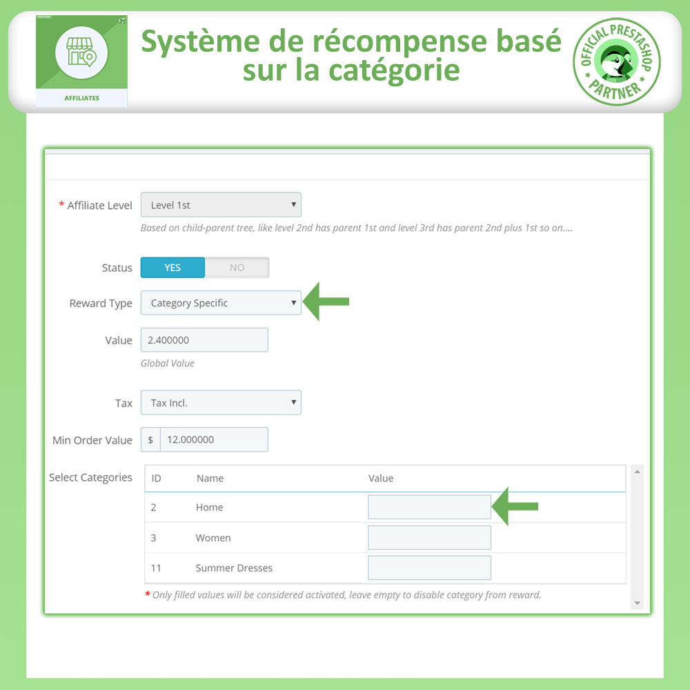 module - Référencement payant (SEA SEM) & Affiliation - Affiliés, Gestion de programme d'affiliation anticipée - 20