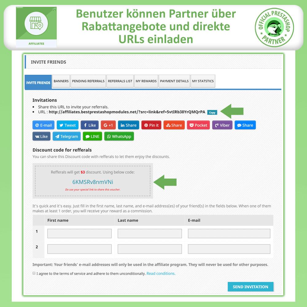 module - SEA SEM (Bezahlte Werbung) & Affiliate Plattformen - Affiliates Pro, Partner- und Empfehlungsprogramm - 2