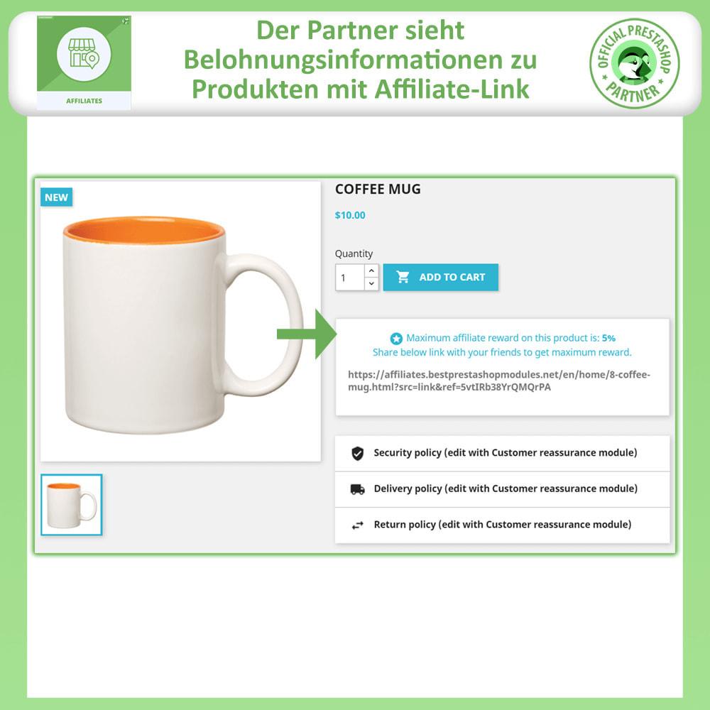 module - SEA SEM (Bezahlte Werbung) & Affiliate Plattformen - Affiliates Pro, Partner- und Empfehlungsprogramm - 4
