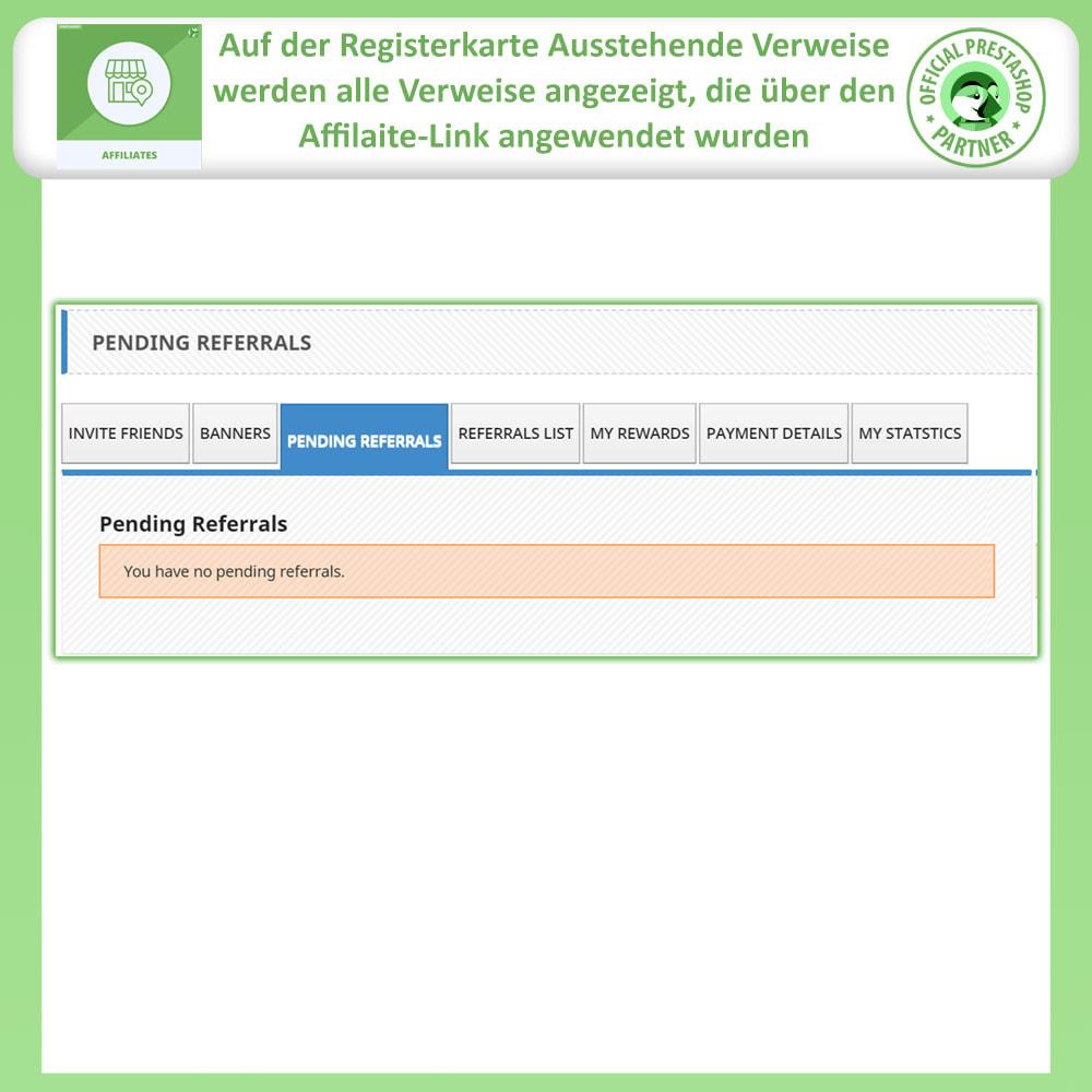 module - SEA SEM (Bezahlte Werbung) & Affiliate Plattformen - Affiliates Pro, Partner- und Empfehlungsprogramm - 6