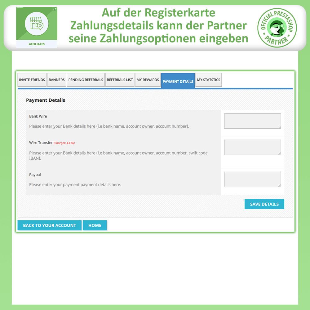 module - SEA SEM (Bezahlte Werbung) & Affiliate Plattformen - Affiliates Pro, Partner- und Empfehlungsprogramm - 8
