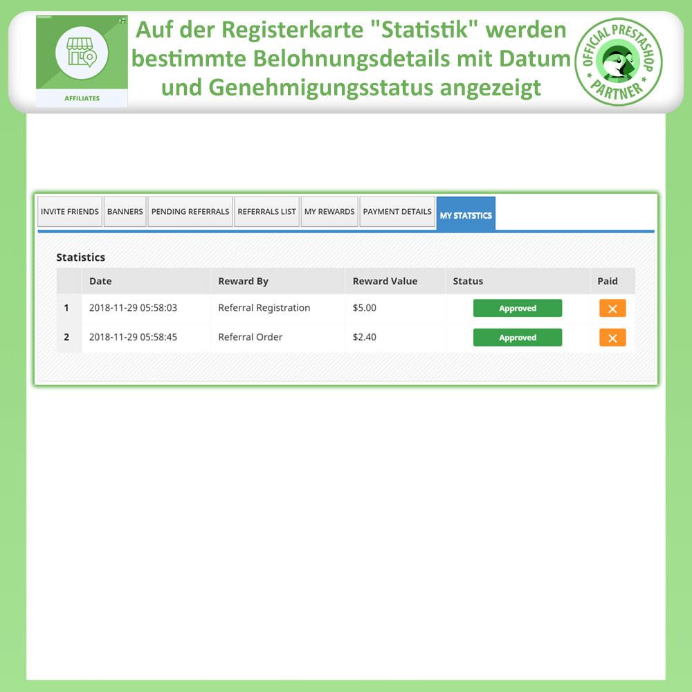 module - SEA SEM (Bezahlte Werbung) & Affiliate Plattformen - Affiliates Pro, Partner- und Empfehlungsprogramm - 9