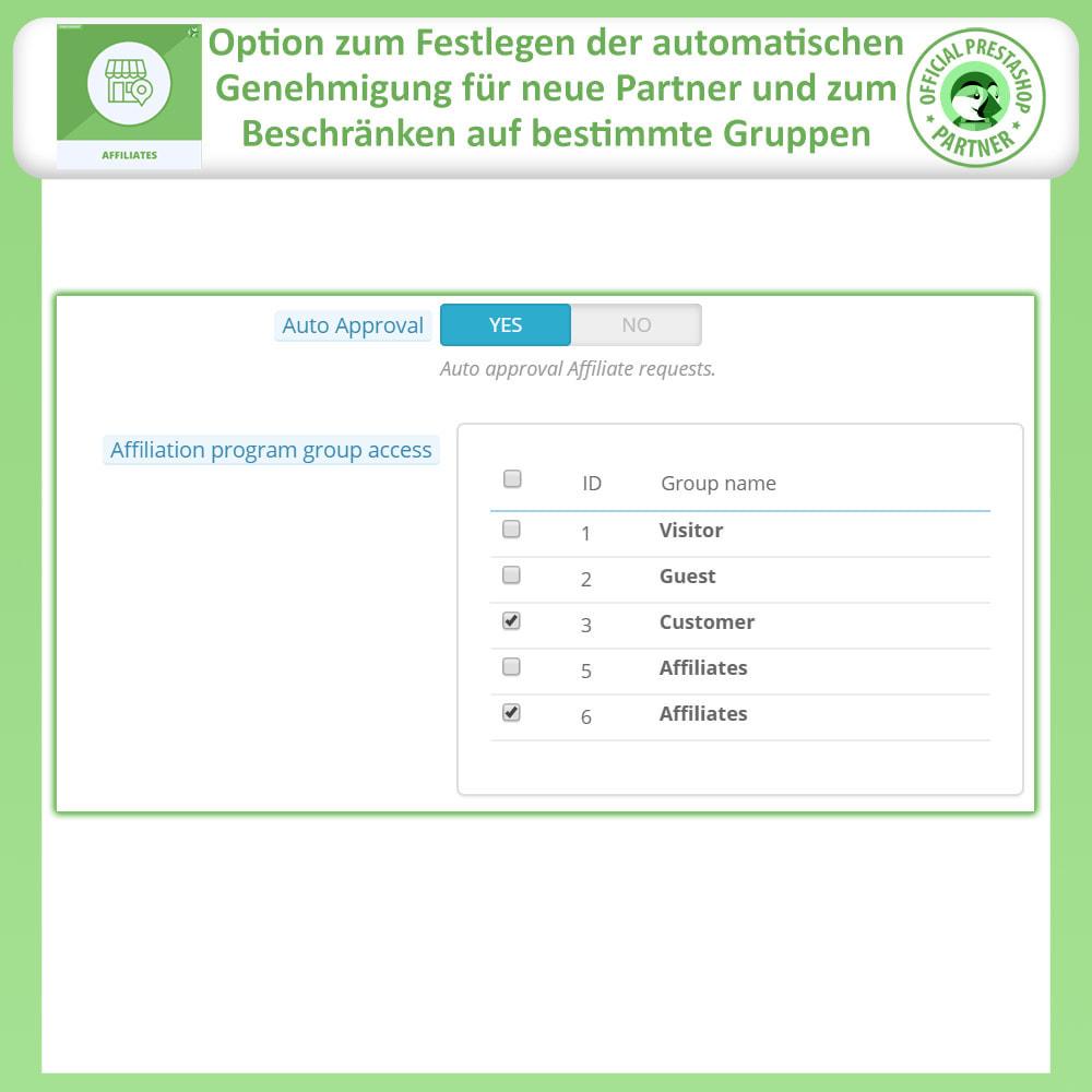 module - SEA SEM (Bezahlte Werbung) & Affiliate Plattformen - Affiliates Pro, Partner- und Empfehlungsprogramm - 13