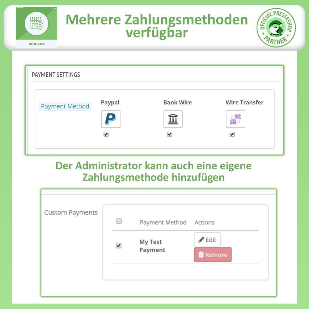 module - SEA SEM (Bezahlte Werbung) & Affiliate Plattformen - Affiliates Pro, Partner- und Empfehlungsprogramm - 15