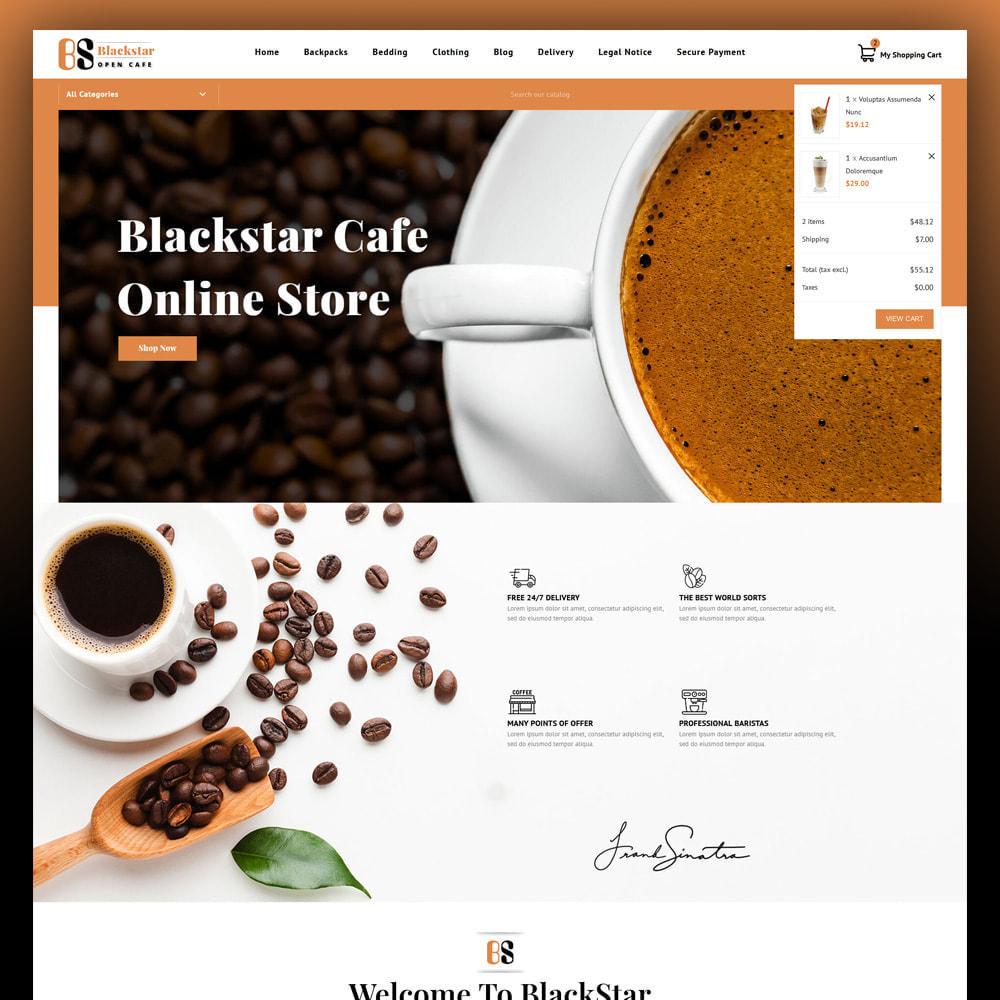 theme - Drink & Tobacco - Blackstar - Coffee Store - 3