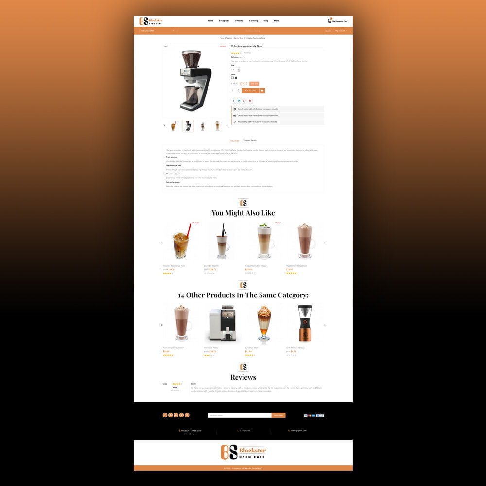 theme - Drink & Tobacco - Blackstar - Coffee Store - 6