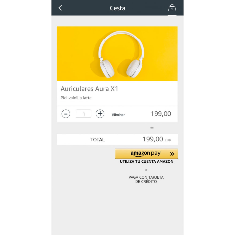 module - Pago con Tarjeta o Carteras digitales - Amazon Pay (Checkout v2) - 2