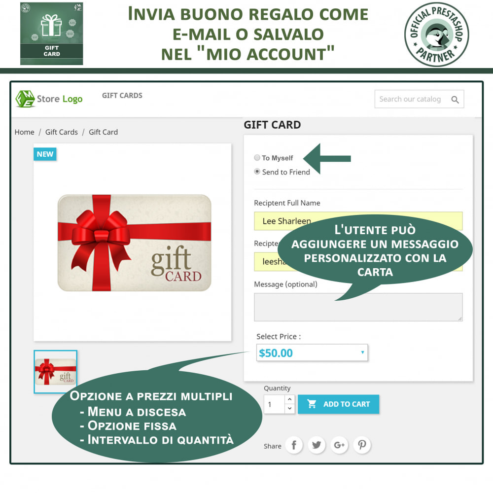 module - Whishlist & Gift Card - Carta Regalo - 3