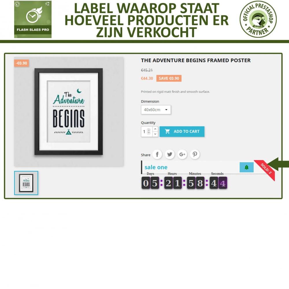 module - Uitverkoop & Besloten verkoop - Flash Sales Pro - Korting met een Aftel Timer - 4