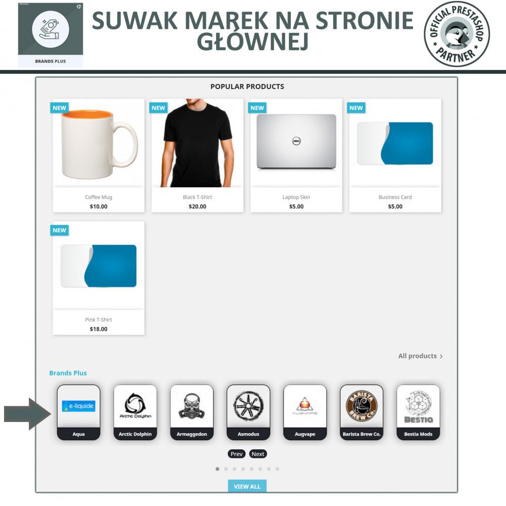 module - Marki & Producenci - Brands Plus - Karuzela reagujących marek i producentów - 2