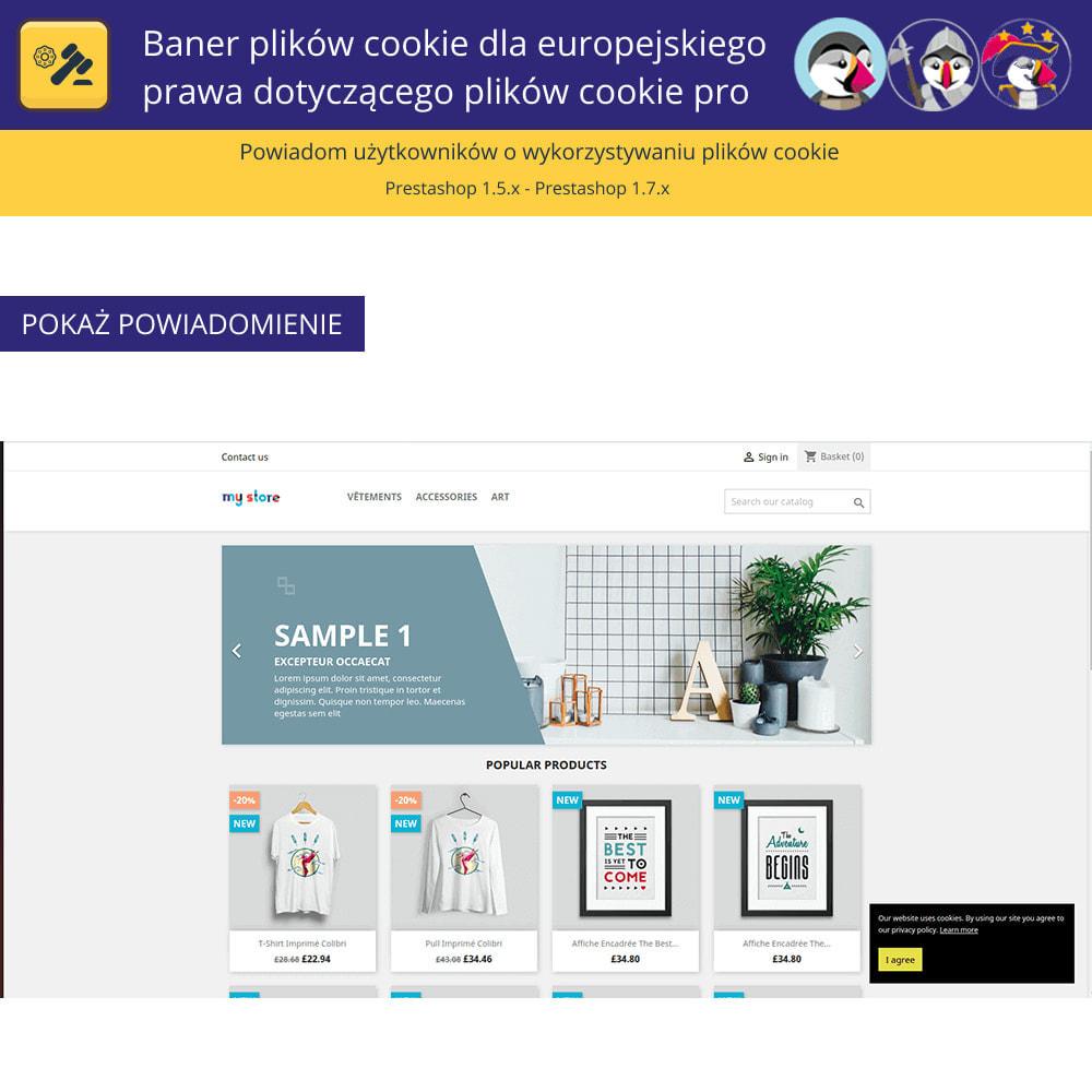 module - Wzmianki prawne - Baner plików cookie dla prawa europejskiego - 3