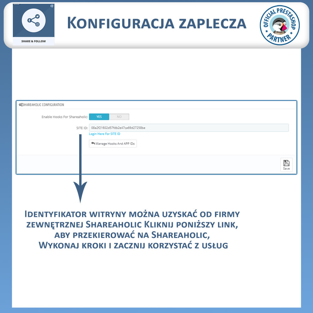 module - Przyciski udostępniania & Komentarze - Udostępnij i śledź - Widget Społecznościowy - 6