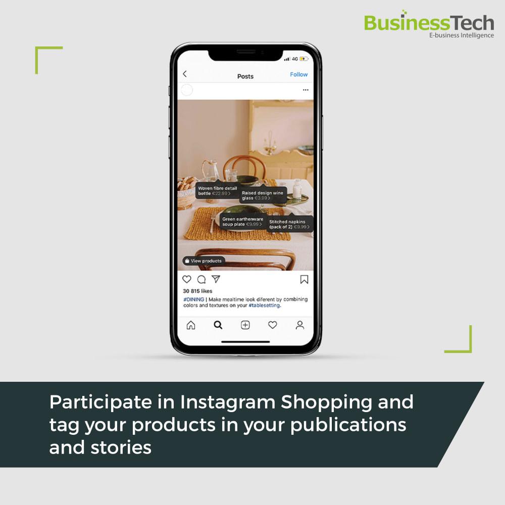 module - Produkty w serwisach społecznościowych - Facebook Dynamic Ads + Pixel & Shops - 2