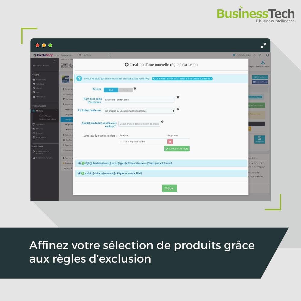 module - Remarketing & Paniers Abandonnés - Dynamic Ads + Pixel & Boutiques Facebook - 6