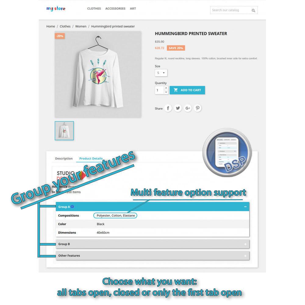 module - Bijkomende Informatie - DataSheet Pro - Product kenmerken - 1
