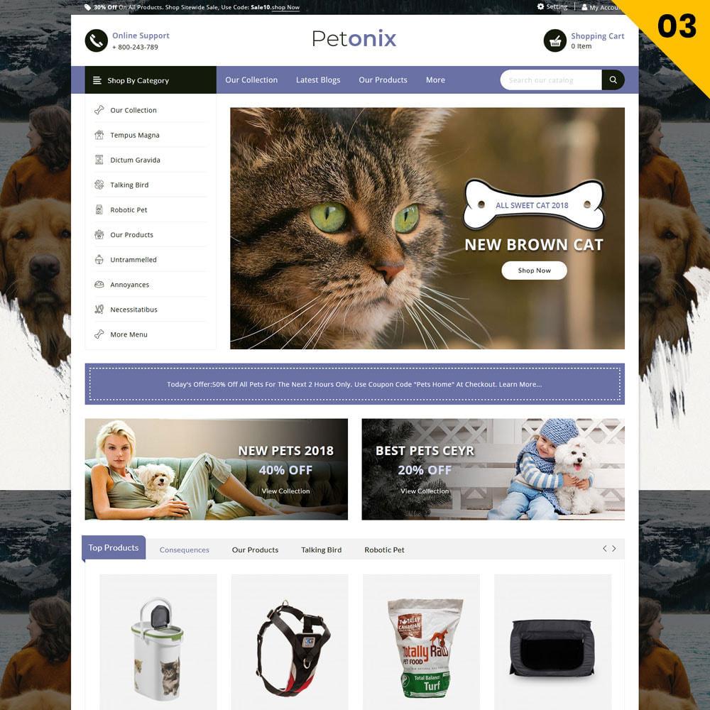 theme - Animals & Pets - Petonix Animal Shop - 5