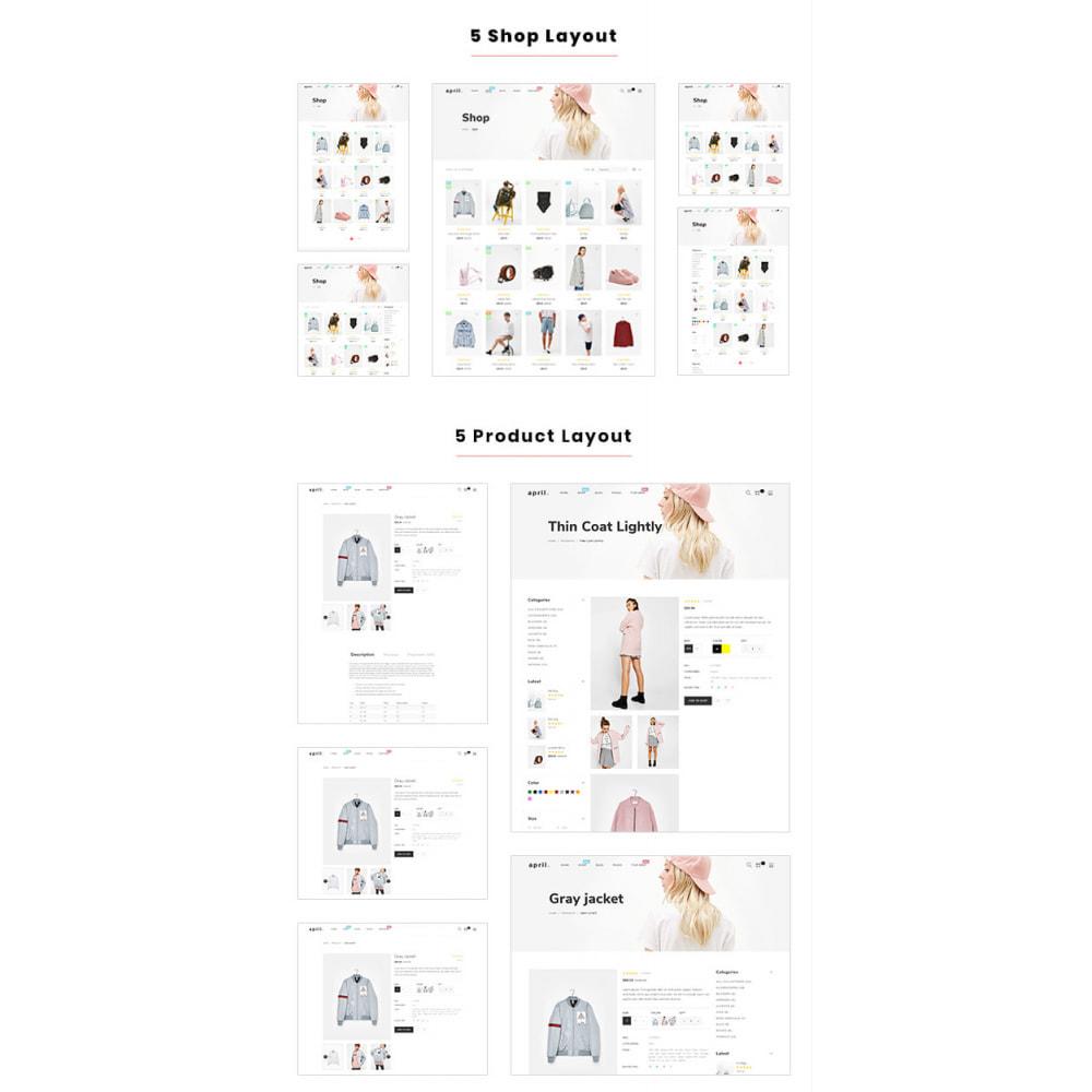 theme - Mode & Schuhe - April  Store eCommerce Bootstrap 4 - 4