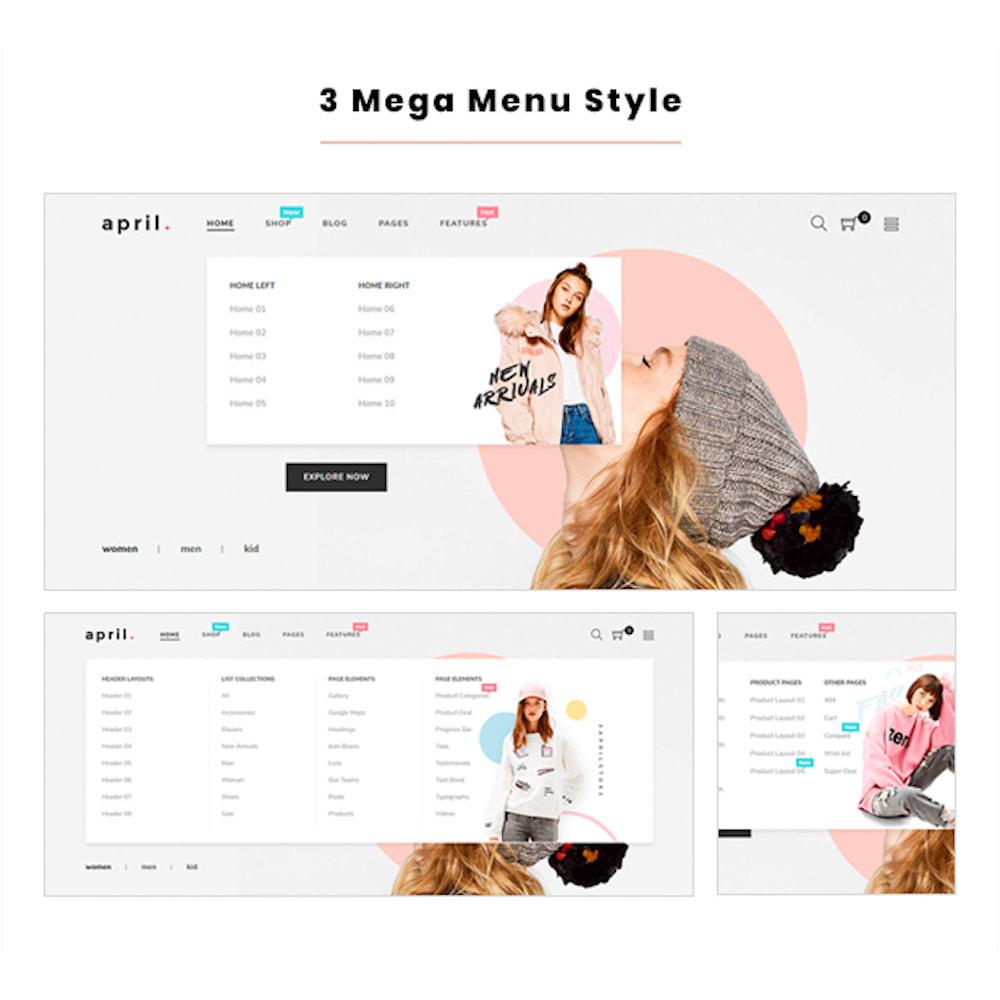theme - Mode & Schuhe - April  Store eCommerce Bootstrap 4 - 3