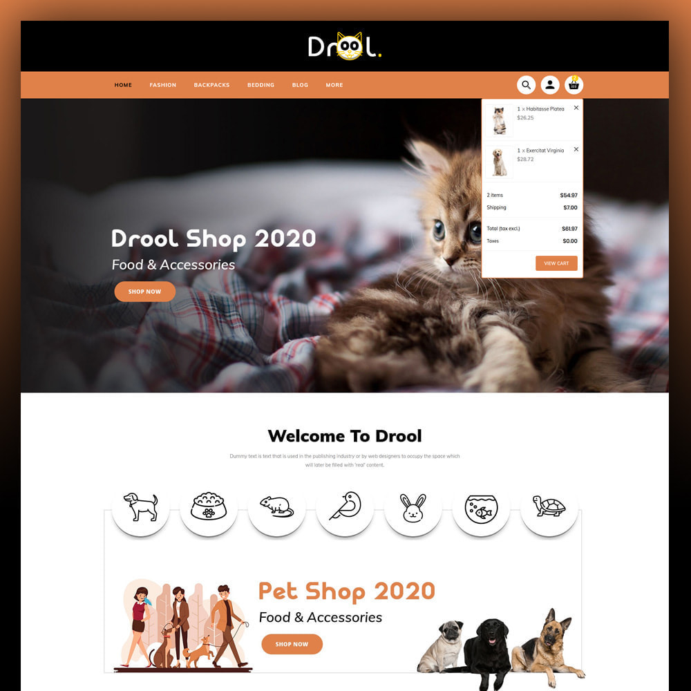 theme - Animais - Drool - Pet Store - 3