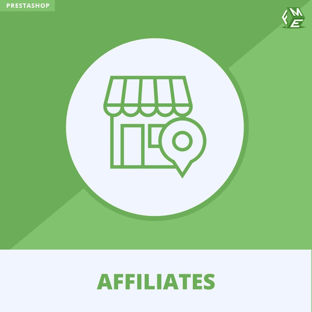 module - Betaalde vermelding & Lidmaatschap - Affiliates Pro, Affiliate & Referral Program - 1