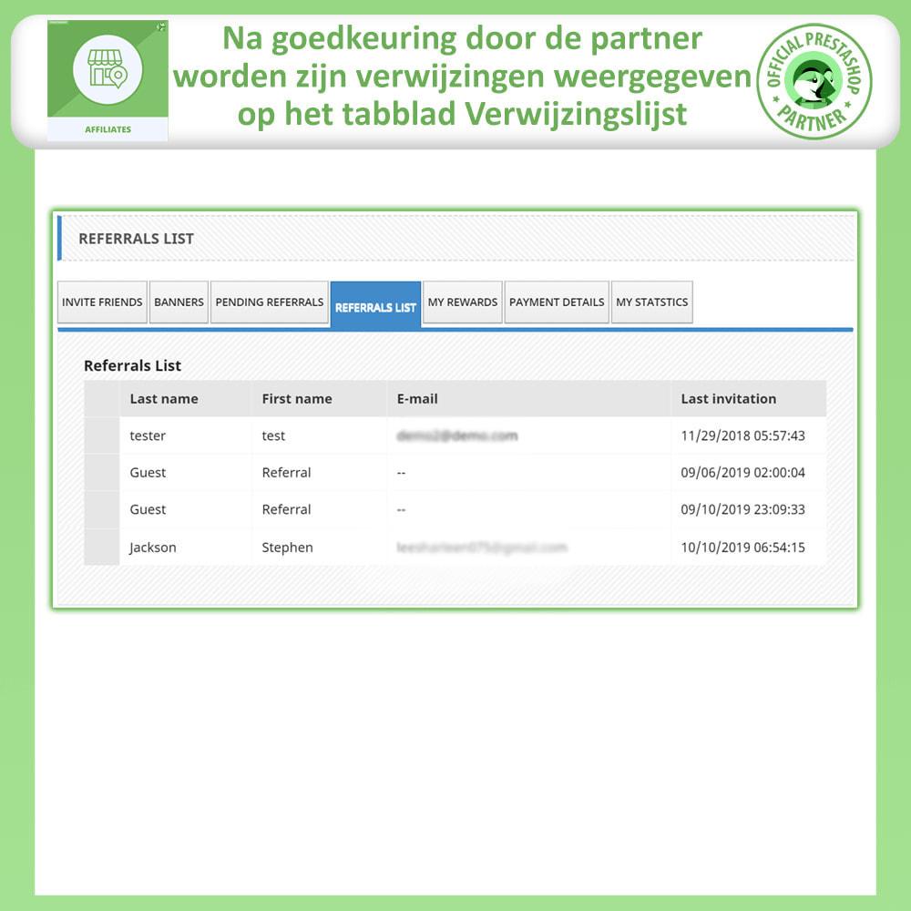 module - Betaalde vermelding & Lidmaatschap - Affiliates Pro, Affiliate & Referral Program - 8