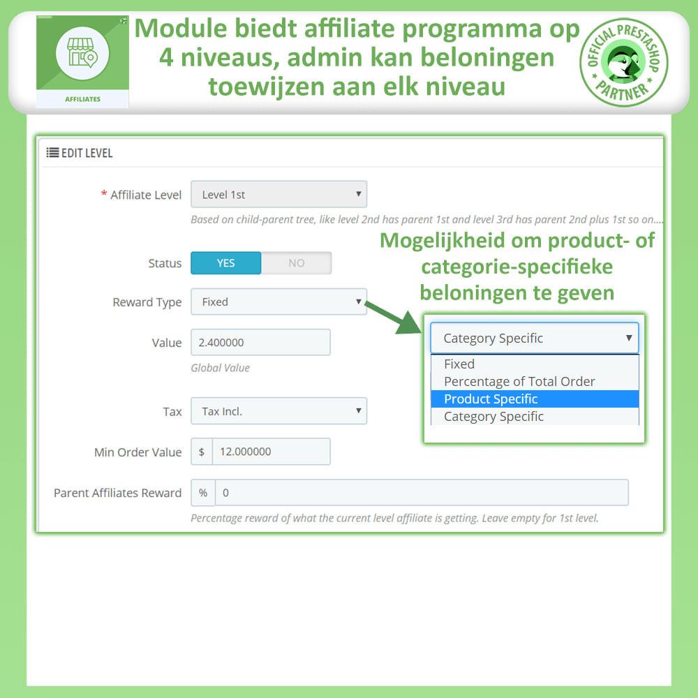 module - Betaalde vermelding & Lidmaatschap - Affiliates Pro, Affiliate & Referral Program - 21